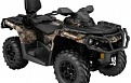 Outlander 6x6 1000 XT Camo - With Flat Bed kit