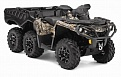 OUTLANDER 6X6 1000 XT CAMO WITH FLAT BED KIT