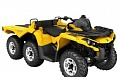 Outlander 6x6 1000 XT With Flat Bed kit  Yellow